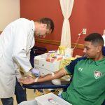 Jogadores doam sangue no INCA